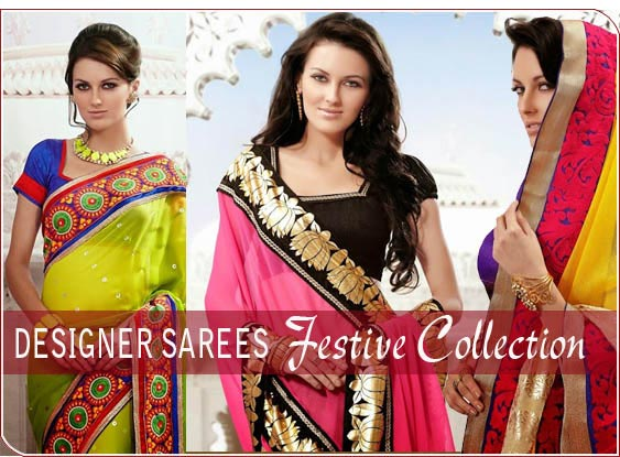 Designer Sarees- Festive Collection