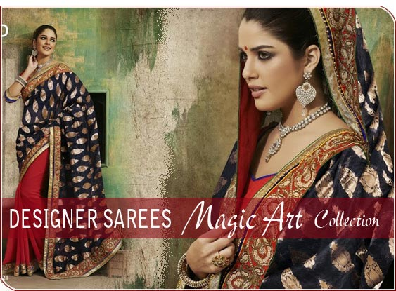 Designer Sarees- Magic Art Collection
