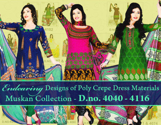 Unstitched Salwar Churidar collection