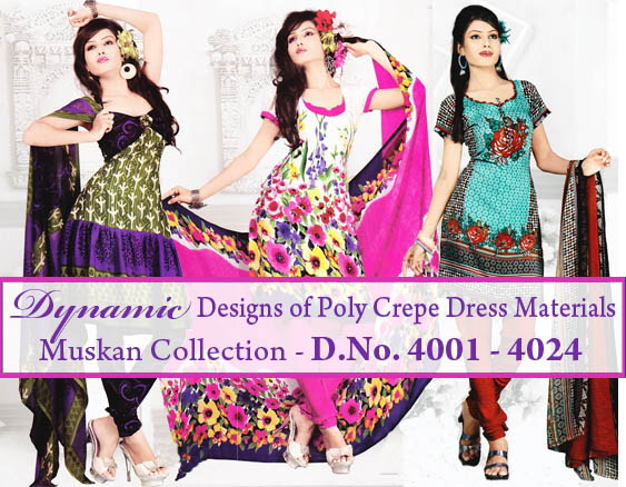 Unstitched Salwar Churidar collection-