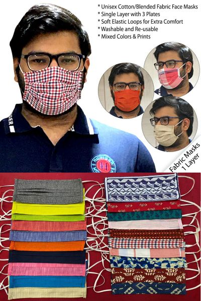 SINGLE LAYER CLOTH FACE MASK