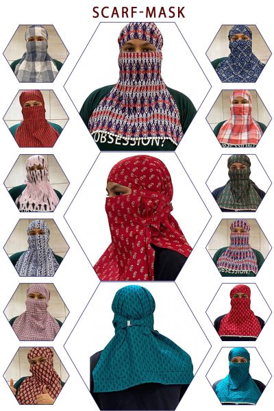 SCARF MASK FACE COVER